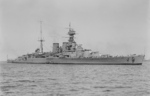 Battlecruiser HMS Hood, 17 Mar 1924
