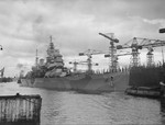 HMS Howe at Govan, Scotland, United Kingdom, circa 1942