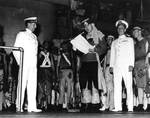 Equator crossing ceremony aboard Indianapolis, Nov 1936