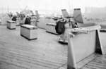One of the 20mm Oerlikon cannon tubs aboard USS Iowa, New York Navy Yard, New York, United States, 9 Jul 1943
