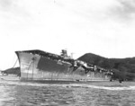 Junyo at Sasebo, Japan, 26 Sep 1945