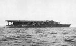 Carrier Kaga off Yokosuka, Japan, 1929
