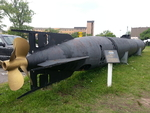Kaiten midget submarine on display at Hackensack, New Jersey, United States, 31 Aug 2013, photo 2 of 2