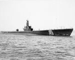 USS Kete underway in Lake Michigan, United States, 15 Aug 1944