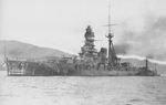 Battleship Kirishima at Kure, Japan, 10 Mar 1940