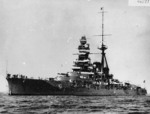 Kirishima, circa early 1930s, after her first major reconstruction