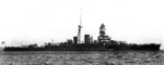 Kirishima near Beppu, Kyushu, Japan, mid-Oct 1932 after her first major reconstruction