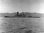 Kirishima in Tsukumo Bay, Japan, 10 May 1937, after her 1935 modernization