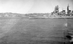 Kirishima off Amoy, China, photographed by USS Pillsbury (DD-227), 21 Oct 1938, photo 1 of 3; note battleship Ise in background
