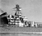 View of Kirov amidships, circa 1938-1939
