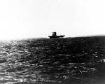 Lexington underway, Battle of Coral Sea, morning of 8 May 1942