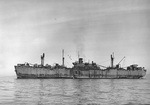 Liberty Ship SS Carlos Carrillo, in San Francisco Bay, California, United States, circa late 1945 or early 1946