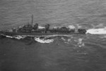 USS Luce underway, May 1945