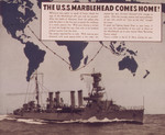 US Office of War Information newsprint regarding the homecoming of USS Marblehead, mid-1942