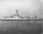 USS Marblehead off New York, New York, United States, 11 Oct 1942