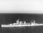 USS Minneapolis underway, 25 Jun 1938; note