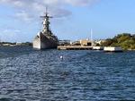 Museum ship Missouri, Pearl Harbor, Hawaii, United States, 30 Nov 2014