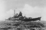 A Mogami-class cruiser underway, date unknown