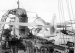 KOR-2 floatplane aboard Russian light cruiser Molotov, 1941