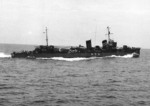 Mutsuki underway, circa late 1930s