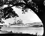 New Mexico at Pearl Harbor, Hawaii, circa 1935