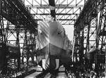 Launching of North Carolina, New York Navy Yard, Brooklyn, New York, United States, 13 Jun 1940