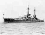 Oklahoma wearing experimental camouflage, circa 1917