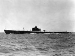 USS Permit underway during shakedown period, 11 Aug 1937