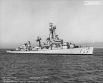 USS Preston off San Francisco Naval Shipyard, California, United States, 22 Oct 1966, photo 1 of 6