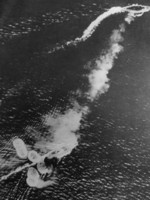 HMS Prince of Wales under attack off Kuantan, Malaya, 10 Dec 1941