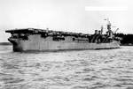 Princeton off Puget Sound Navy Yard, Washington, 1 Jan 1944, 1 of 3