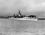 Princeton off Puget Sound Navy Yard, Washington, 1 Jan 1944, 3 of 3