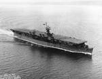 USS Princeton off Seattle, Washington, United States, 3 Jan 1944, 1 of 2