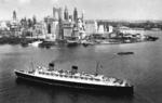 RMS Queen Elizabeth at New York, New York, United States, date unknown