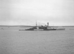 HMS Repulse off Kirkwall, Orkney Islands, Scotland, United Kingdom, 5 Jul 1941