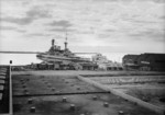 HMS Repulse docked at Haifa, Palestine, Jul 1938, photo 2 of 4