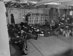 Sailors resting in the stoker