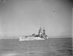 HMS Rodney underway, date unknown