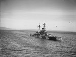 HMS Royal Sovereign at Scapa Flow, Scotland, United Kingdom, 1940s