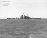 USS St. Louis off the Mare Island Navy Yard, California, United States, 6 Mar 1942