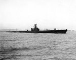 Salmon off the Mare Island Navy Yard, California, United States, 10 Aug 1944, photo 1 of 2