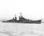 USS San Diego off San Francisco, California, United States, 1 Jan 1944, photo 1 of 2