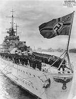 Ceremony on Scharnhorst