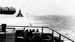 Gneisenau and Scharnhorst trailing Prinz Eugen during the Channel Dash, Feb 1942, photo 3 of 3