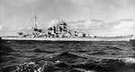 Scharnhorst at sea, circa 1939, photo 1 of 2