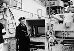 A boatswain aboard Scharnhorst, date unknown