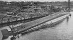 Capsized Admiral Scheer, Kiel, 7 May 1945