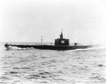 Searaven making full speed while running trials off Portsmouth, New Hampshire, United States, 13 May 1940, photo 1 of 3