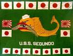 Battle flag of USS Segundo