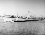 USS Segundo off Mare Island Naval Shipyard, California, United States, 8 Aug 1949